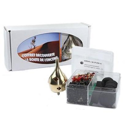 Coffret encens en grains