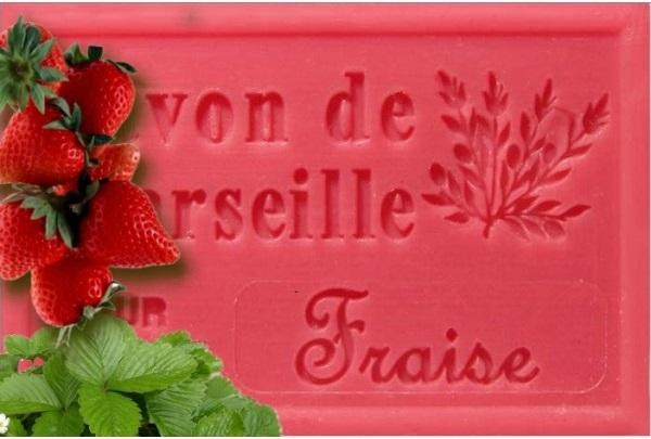 Savon fraise