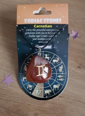 Astrologique collier gemeaux
