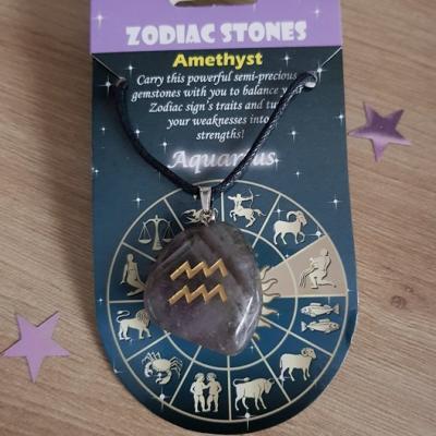 Astrologique collier verseau