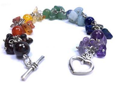 7 CHAKRAS & COEUR Bracelet