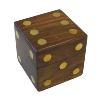 Coffret 5 des en bois 1