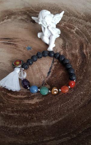 Love care for soul bracelet chakras f