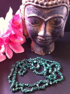 MALACHITE COLLIER 90CM