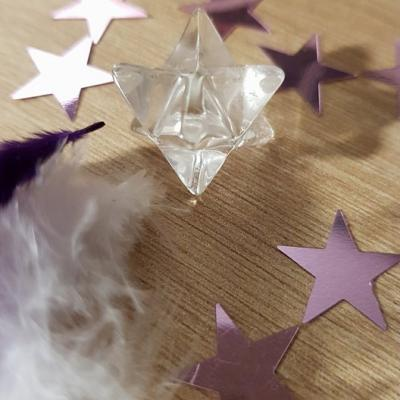 Merkaba cristal de roche 2