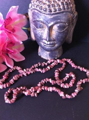 RHODONITE COLLIER 90CM