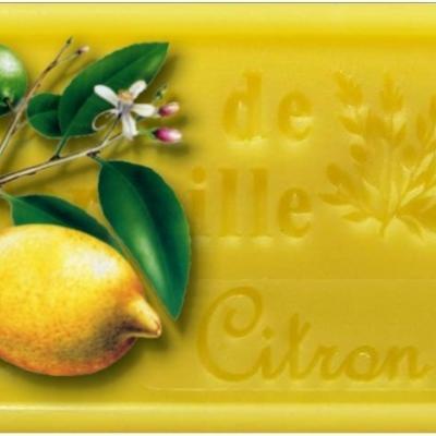 Savon citron jaune 125g