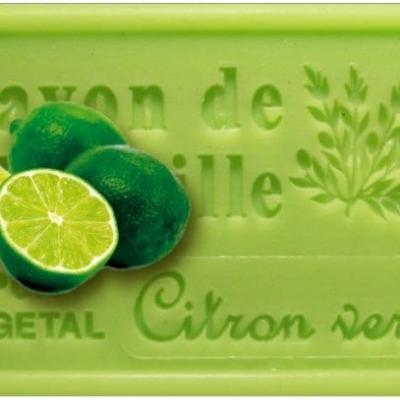 Savon de marseille citron vert