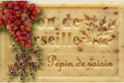 Savon de marseille pepins de raisin