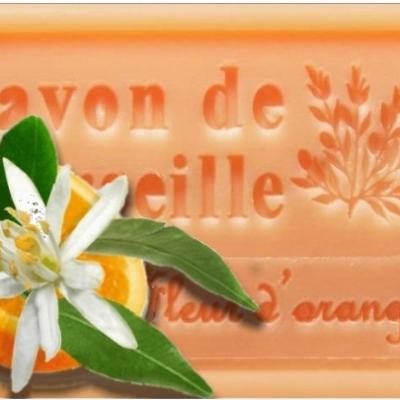 Savon marseille fleur oranger